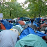 NYPD Clears Zuccotti Park, Dumps Protesters' Tents