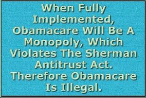 obamacareShermanAntitrustAct