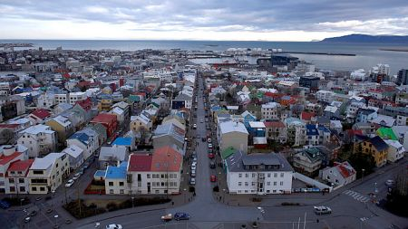 A general view shows the city of Reykjavik seen from Hallgrimskirkja church (Reuters/Stoyan Nenov)