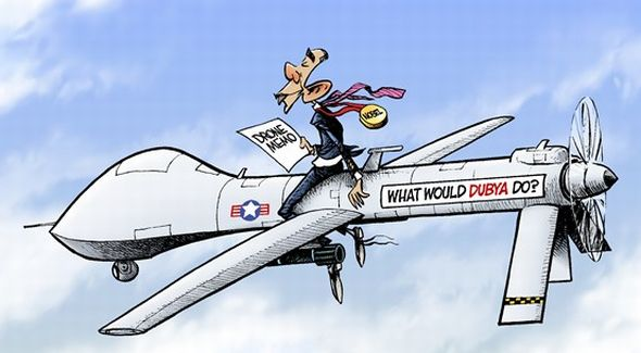 ObamaDroneMemoRidingDrone_Cartoon