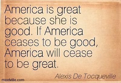 AmericaGoodGreat