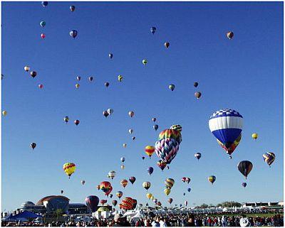 Albuquerque Balloon Festival From Wise Owl James
