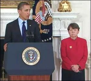 President Obama Nominating Mary Jo White for Chair of the Securities and Exchange Commission in 2013